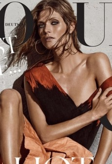 Giampaolo Sgura Shoots Malgosia Bela for Vogue Germany's May Cover (Forum Buzz)
