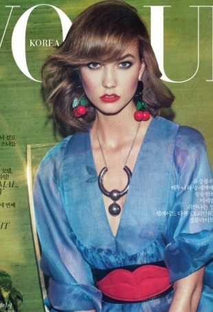 vogue-korea-karlie-kloss-may-2014-portrait