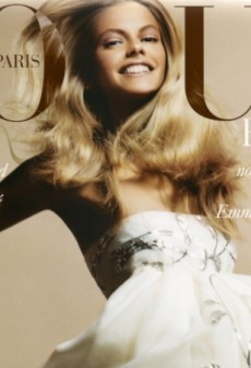 Flashback: Vogue Paris May 2005 with Julia Stegner by David Sims