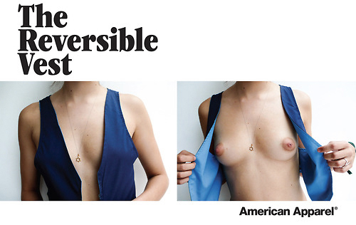 american apparel ad 2007 topless
