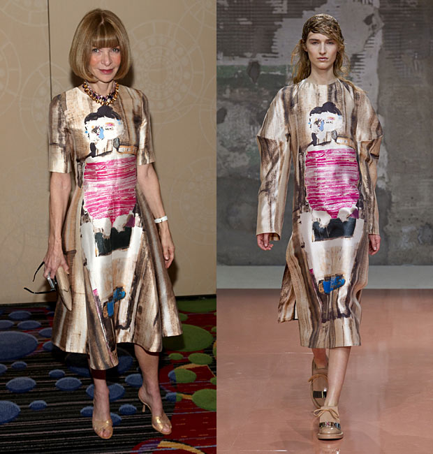 Anna Wintour in Marni Fall 2014