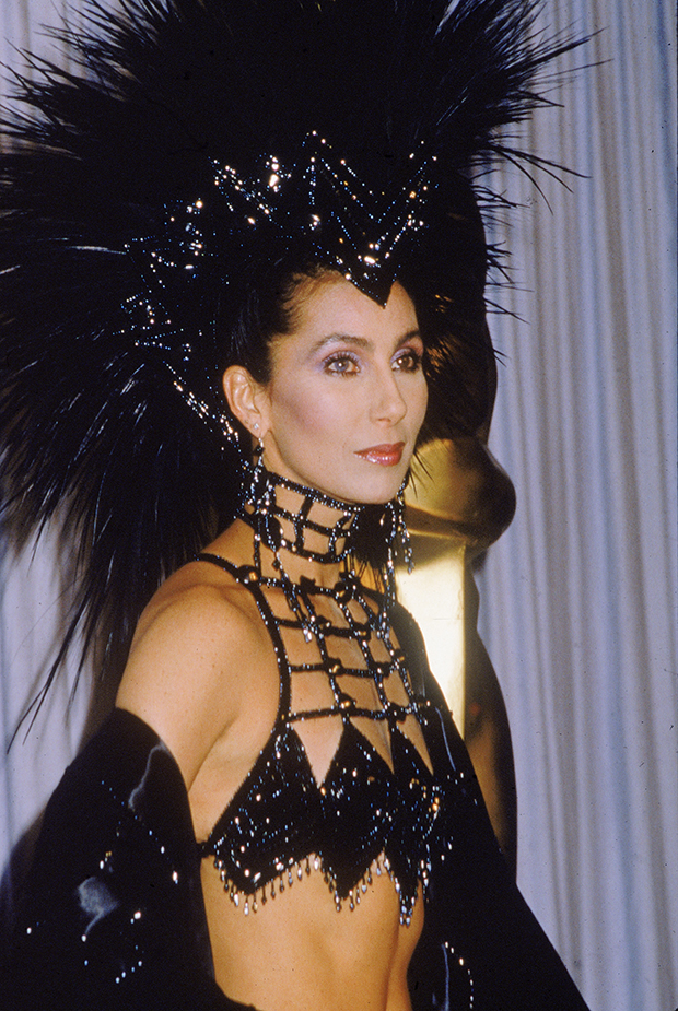 cher 1986 birthday headpiece icon