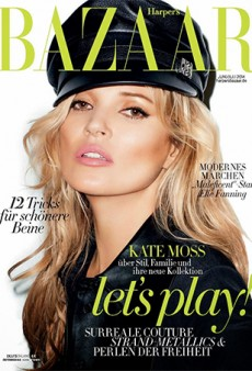 Link Buzz: Kate Moss Photographed by Terry Richardson for World's Most Boring Cover