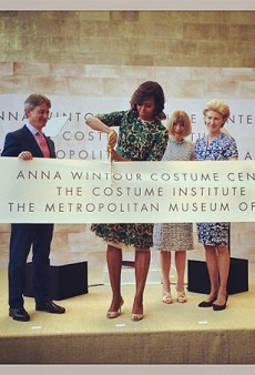 Michelle Obama Joins Fashion's Elite to Celebrate Met Gala Day: The Best of Instagram