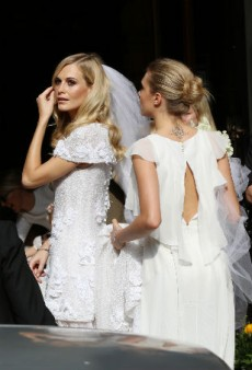 First Look: Poppy Delevingne Decked Out in Custom Chanel for Her Wedding