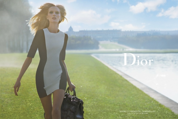 Ad Campaign Christian Dior Secret Garden 2014 Daria Strokous