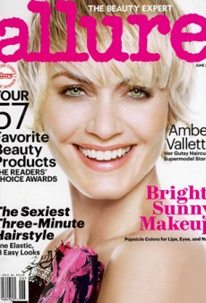 Amber Valletta Shows Off Newly Cropped Hair for Allure Magazine (Forum Buzz)