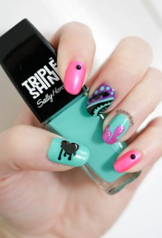 Nail Art YouTuber Elleandish Finds Graffiti Inspiration in Her City