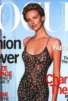 Flashback: US Vogue October 2000 with Charlize Theron by Herb Ritts