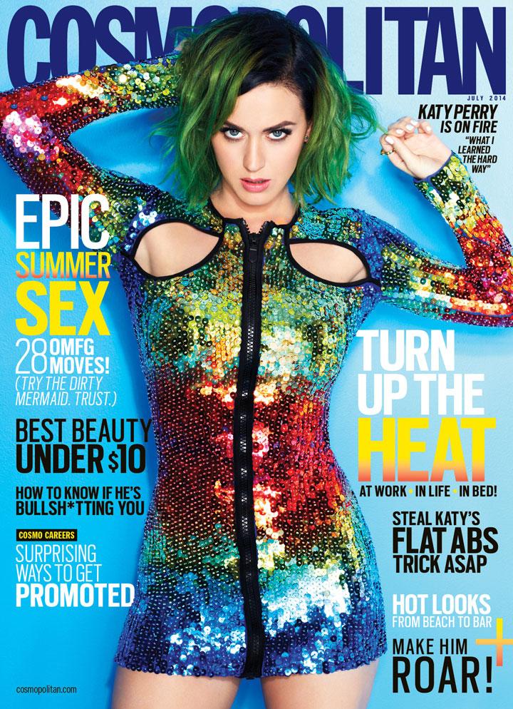 Katy Perry Cosmopolitan