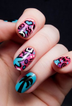 Chalkboard Nails Discovers Cultural Scenes and Gets Creative: A Nail Art DIY