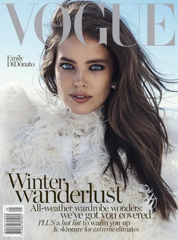 Vogue Australia June 2014 Emily DiDonato