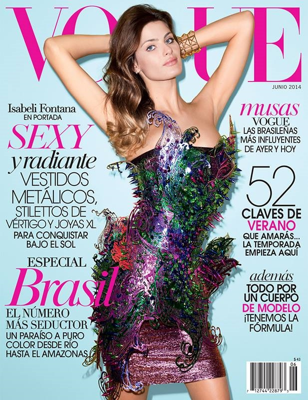 Vogue Mexico June 2014 Isabeli Fontana Terry Richardson