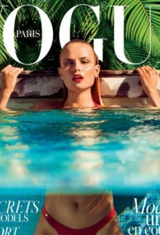 Natasha Poly Scores Her 40th Vogue Cover with Vogue Paris June/July Issue (Forum Buzz)