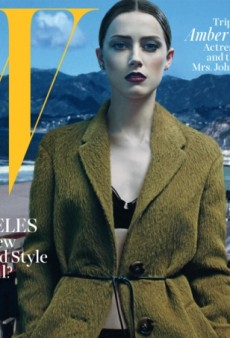 Amber Heard's 'Disconnected' Cover Of W Magazine Fails to Impress (Forum Buzz)