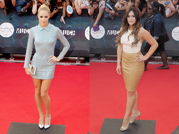 2014 MMVAs red carpet arrivals.