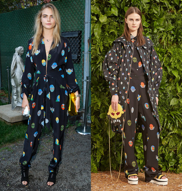 Cara Delevingne in Stella McCartney Resort 2015