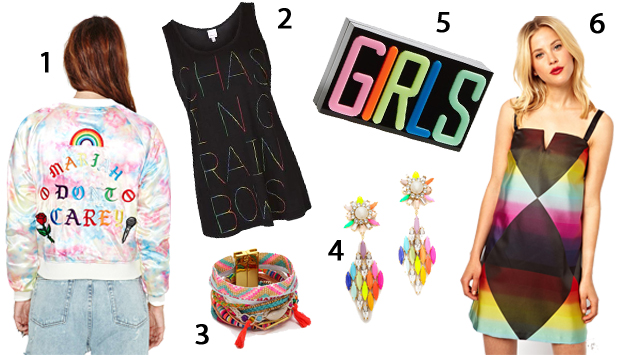 Rainbow-Themed Fashions to Show Your Pride