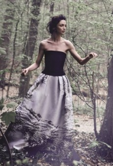 Mariacarla Boscono Returns for Alberta Ferretti's Fall 2014 Ad Campaign (Forum Buzz)