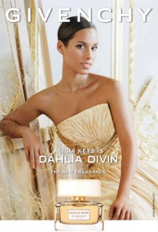 See Alicia Keys' Givenchy Dahlia Divin Fragrance Ad