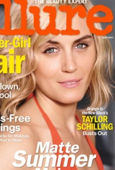 Taylor Schilling's Allure Cover Fails to Impress Forum Members (Forum Buzz)
