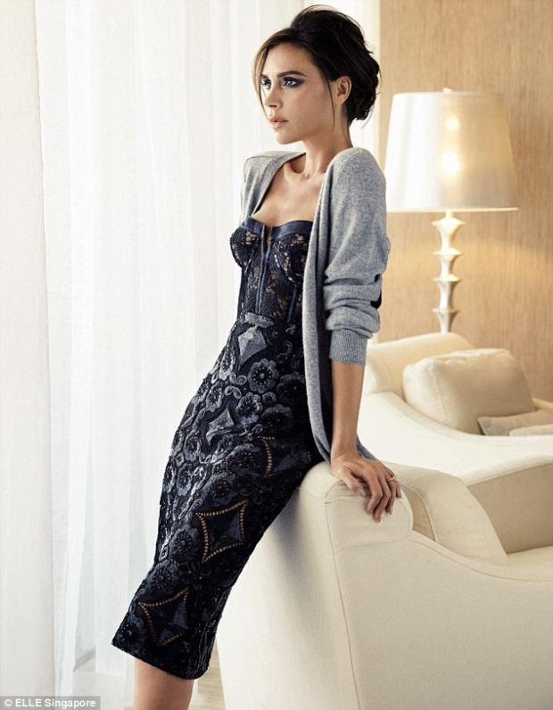 Elle Singapore Victoria Beckham Editorial Preview