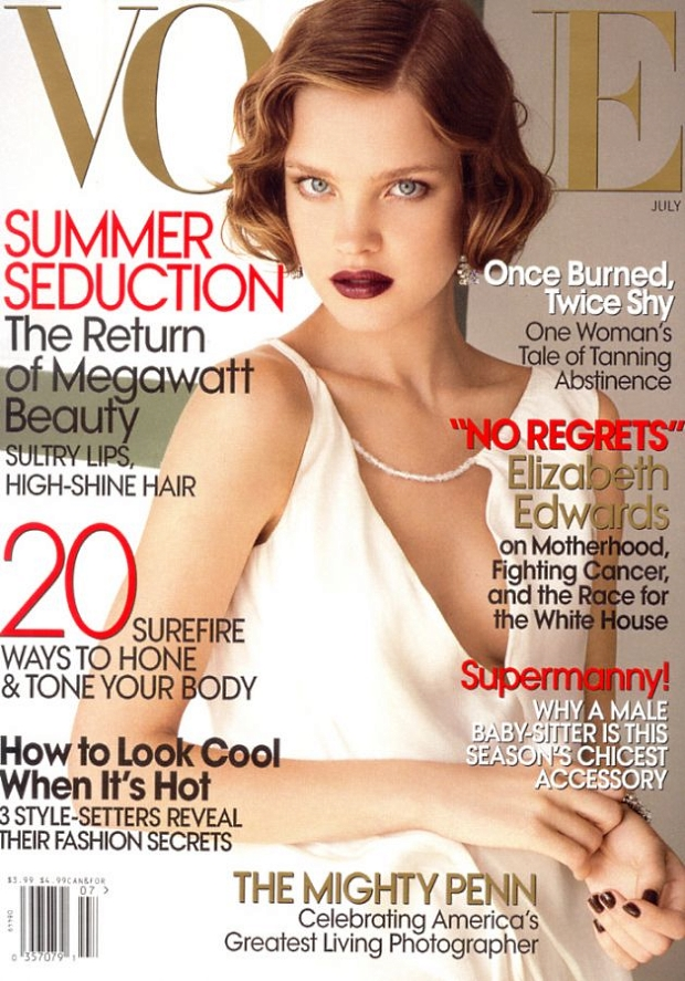 Flashback US Vogue July 2007 Natalia Vodianova