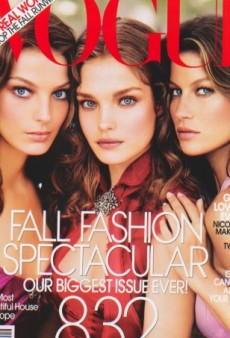Flashback: Models of the Moment in US Vogue September 2004