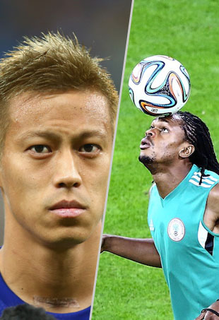 The Best Haircuts At 2014 FIFA World Cup