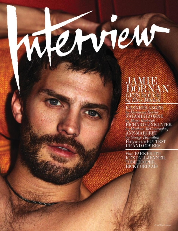 Interview Magazine June July 2014 Jamie Dornan