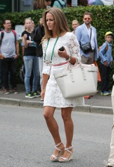 Kim Sears Scores Some Major Style Points with Her Wimbledon Looks
