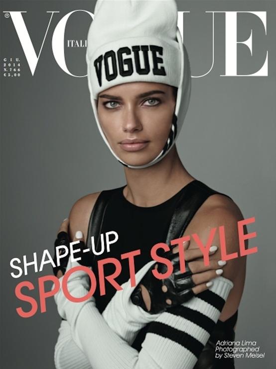 Vogue Italia June 2014 Adriana Lima Steven Meisel