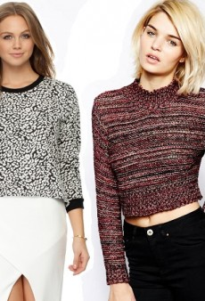 Our 10 Favourite Cold Weather Crop Tops