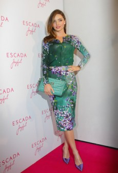 Miranda Kerr Acts Innocent in Feminine Florals for Escada Fragrance Launch