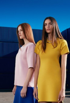 Industrial Influences for SABA's Spring 2015 Campaign