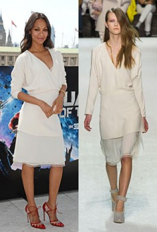 Runway to Real Life: Zoe Saldana in Chloé, Cate Blanchett in Fausto Puglisi and More (Forum Buzz)