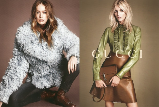 Ad Campaign Gucci Fall 2014 Mert & Marcus
