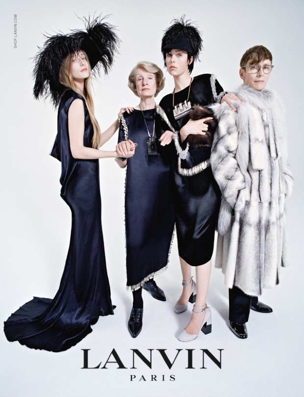 Ad Campaign Lanvin Fall 2014 Edie Campbell Tim Walker