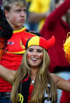 Hot Belgian Soccer Fan's L'Oréal Contract Has Already Been Dropped