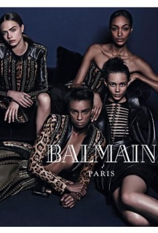 Balmain Casts Diverse Group of Models for Fall 2014 Campaign