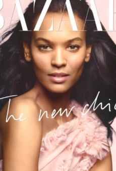 Flashback: UK Harper's Bazaar May 2008 with Liya Kebede