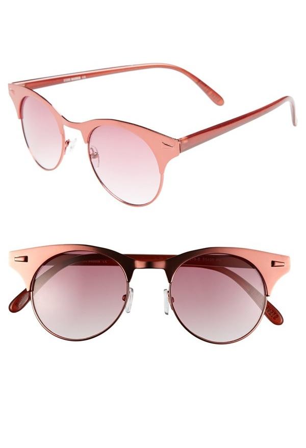Steve Madden pink retro sunglasses