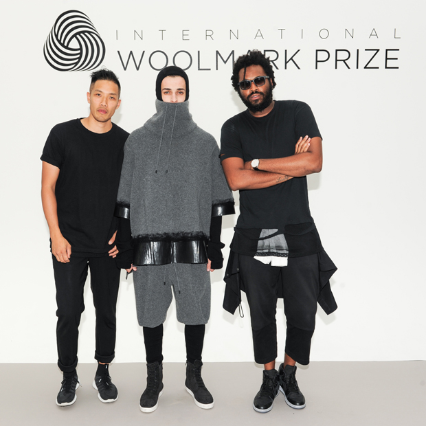 Dao-Yi Chow and Maxwell Osborne of Public School with Model Woolmark