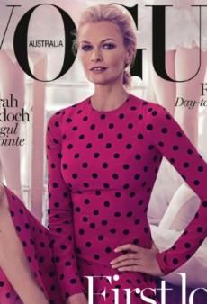 Sarah Murdoch Promotes Australian Ballet On Vogue Australia (Forum Buzz)