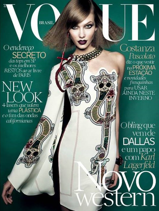 Vogue Brazil July 2014 Karlie Kloss Henrique Gendre