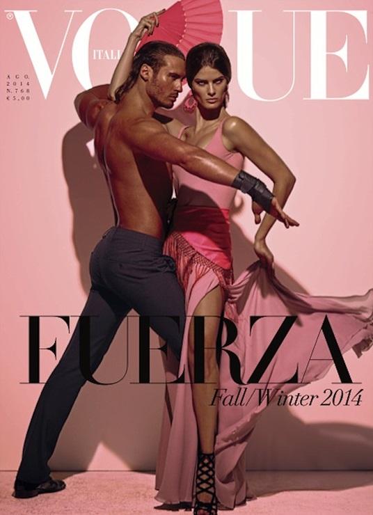 Vogue Italia August 2014 Isabeli Fontana Steven Meisel