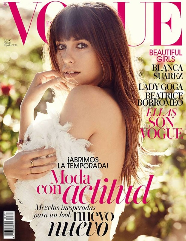 Vogue Spain August 2014 Blanca Suarez Giampaolo Sgura