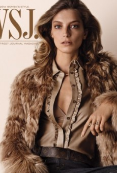 Daria Werbowy Looks 'Effortless' On WSJ's September Cover (Forum Buzz)