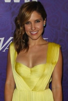 Sophia Bush Brightens Up an Emmy Pre-Party in Maria Lucia Hohan