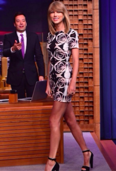 Taylor Swift Amps Up the Edge in Bec & Bridge on Jimmy Fallon's Tonight Show